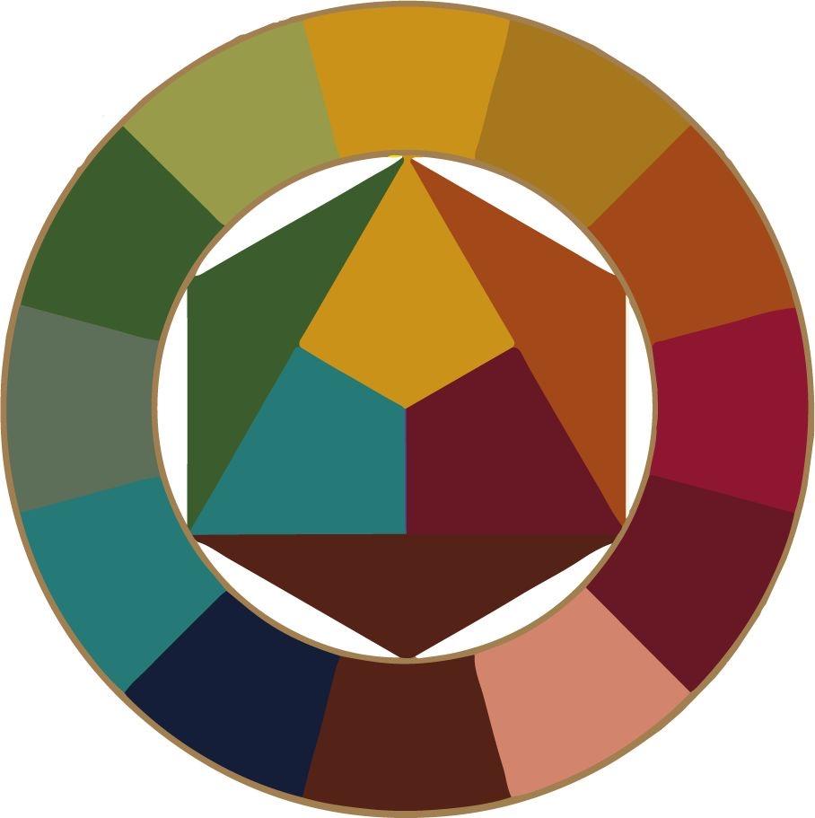 paleta sazonal de outono