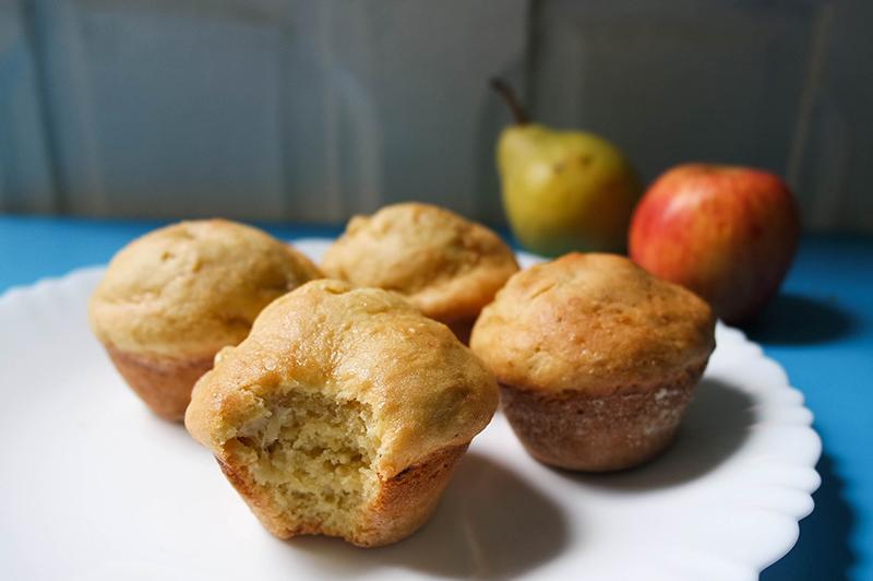 bolo de maçã vegano sem glúten